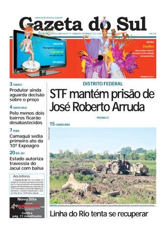 Jornal Gazeta do Sul Ano 66 Nº 17 by Portal Academia do Samba - issuu 5a55c0bea63f2