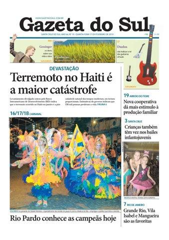 e0e5b12ee97a Jornal Gazeta do Sul Ano 66 Nº 19 by Portal Academia do Samba - issuu