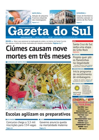 Jornal Gazeta do Sul Ano 68 Nº 25 by Portal Academia do Samba - issuu db937ba00c6ea