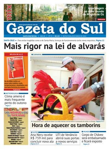Jornal Gazeta do Sul Ano 69 Nº 35 by Portal Academia do Samba - issuu e1b9bda66259c