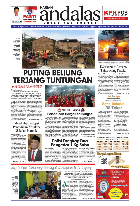 Epaper andalas edisi sabtu 26 agustus 2017 by media andalas - issuu 279df31e83