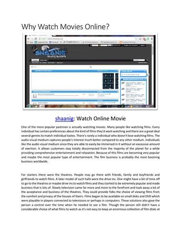 Shaanig - watch movies online by shaanig - issuu
