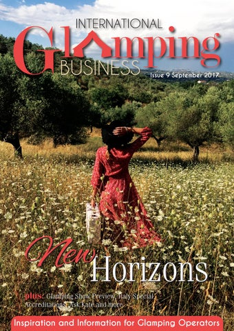 ec5830194cfc12 International Glamping Business September Issue by Holiday Parks ...