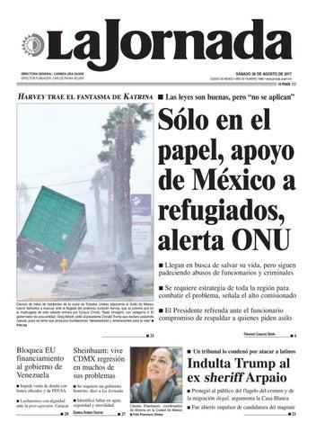 La Jornada, 07/20/2016 by La Jornada: DEMOS Desarrollo de Medios SA de CV -  issuu