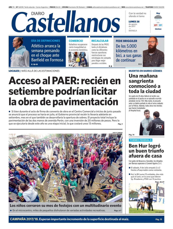 Diario Castellanos 28 08 by Diario Castellanos - issuu 7c56bf745acac