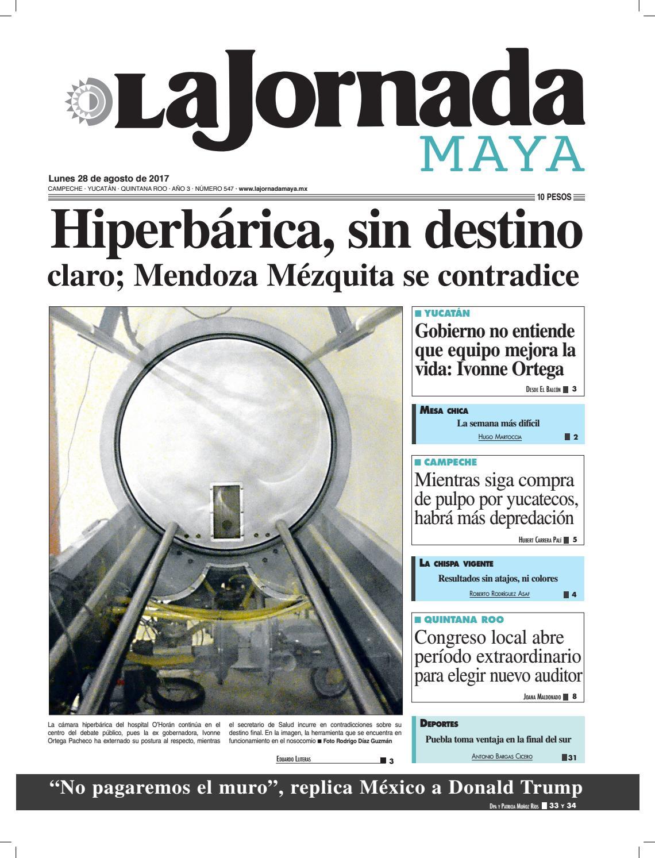 La Jornada Maya · 28 de agosto, 2017 by La Jornada Maya - issuu