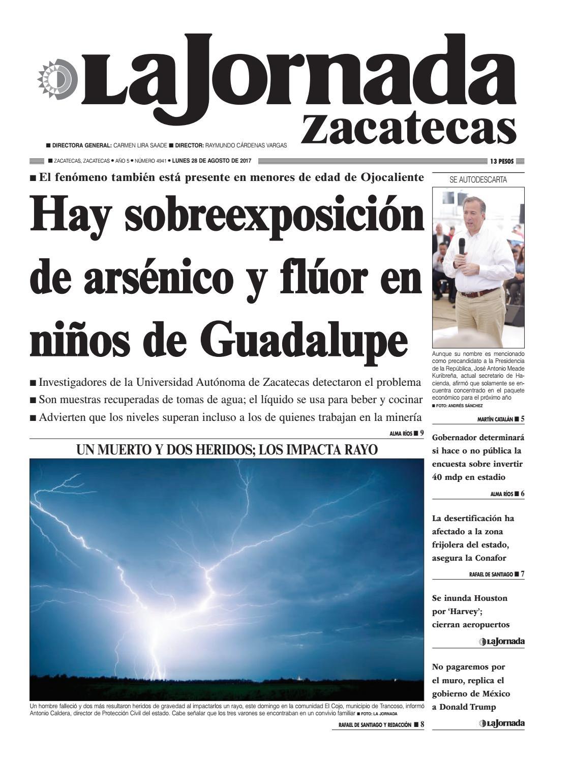 La Jornada Zacatecas, lunes 28 de agosto de 2017 by La Jornada ...