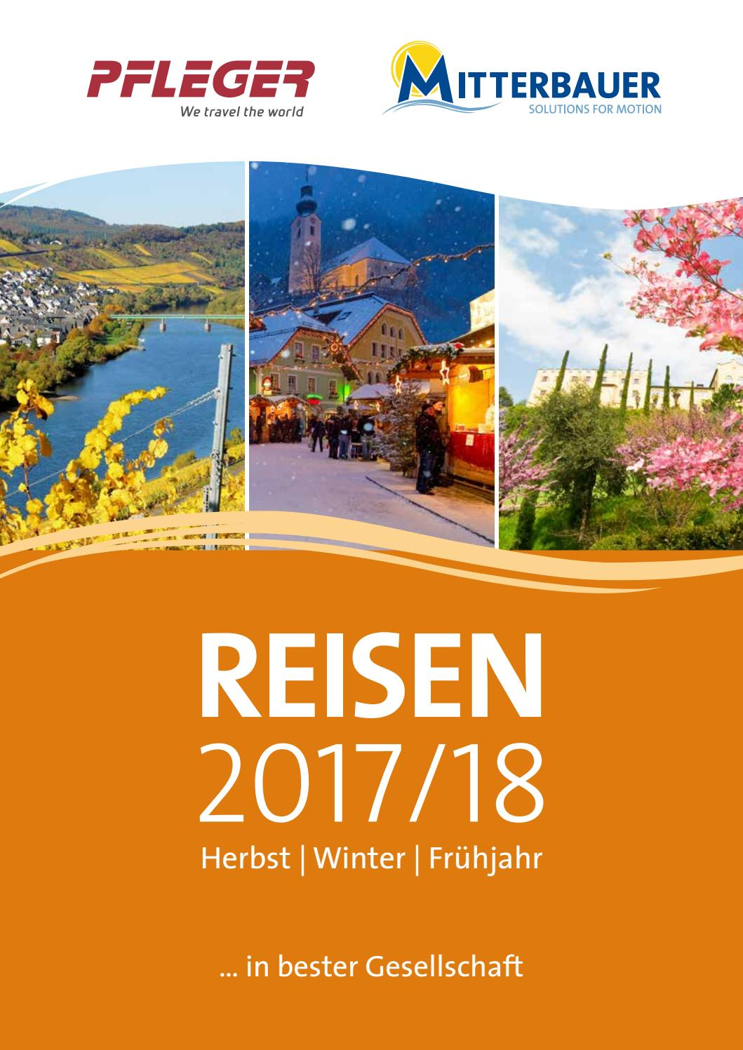 Herbstreisen Busreisen 2017 Mitterbauer Pfleger by Mitterbauer ...