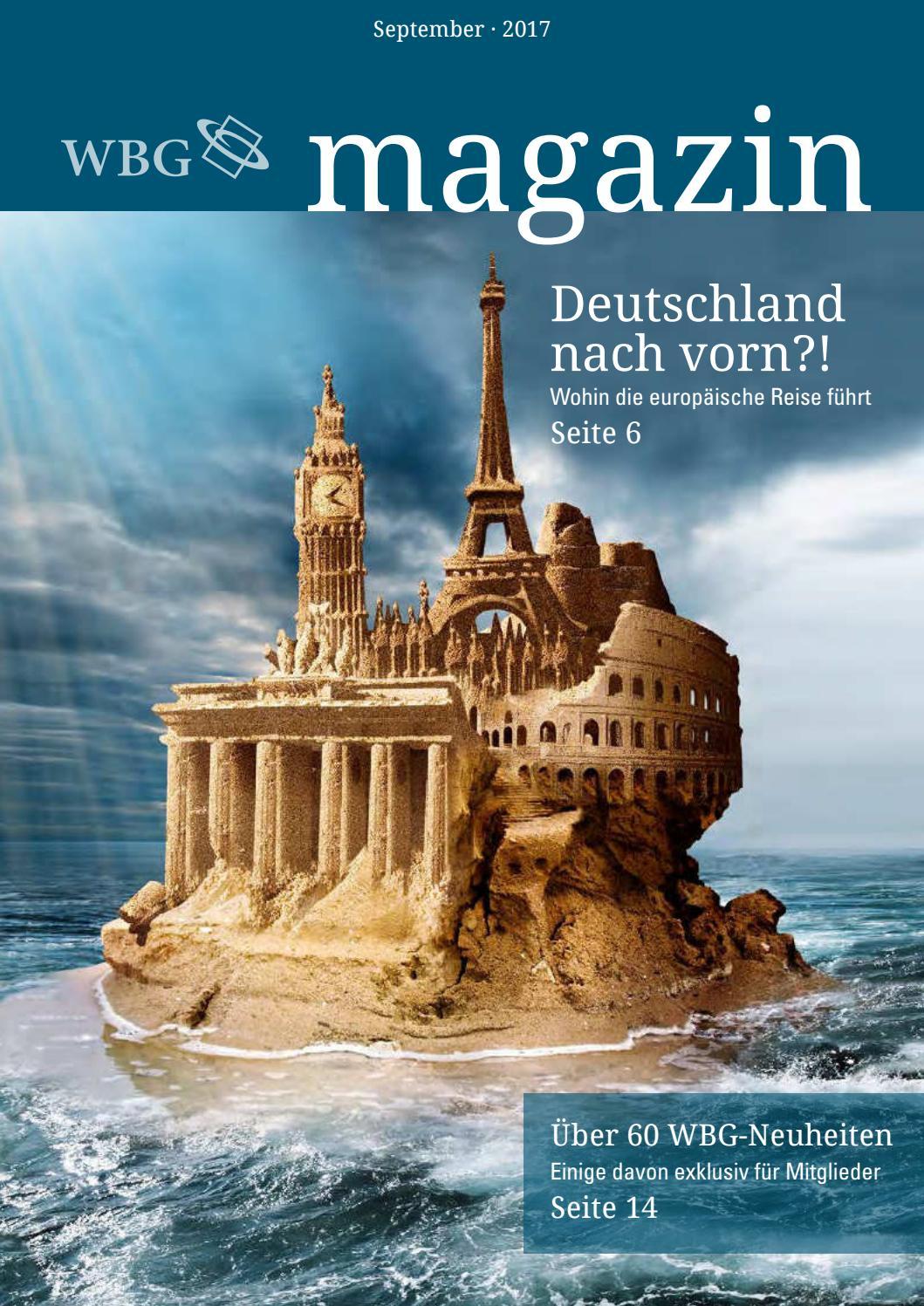 Magazin 3/2017 by wissenschaftliche Buchgesellschaft (WBG) - issuu