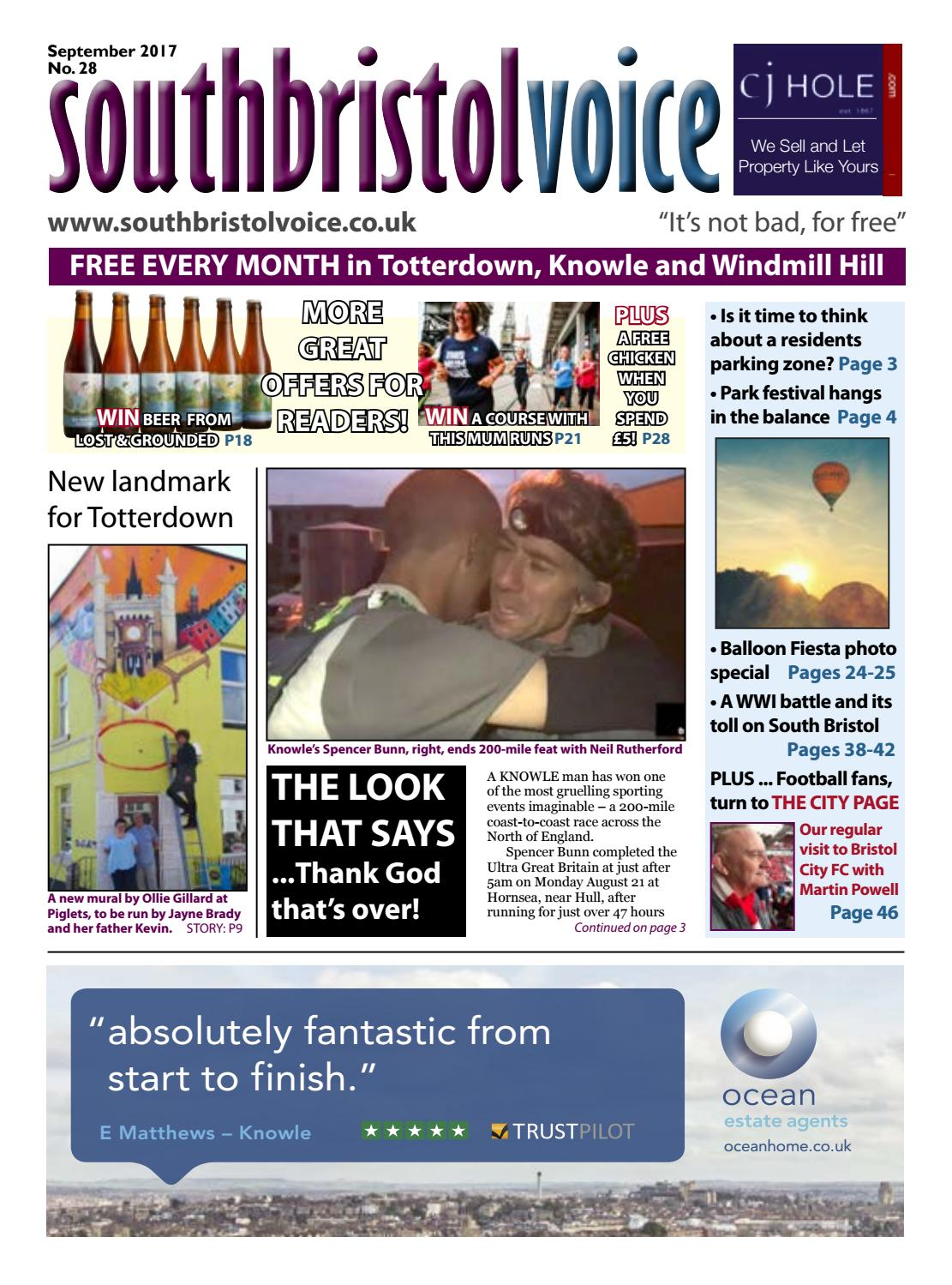 6044a7332e5d8 South Bristol Voice September 2017 by South Bristol Voice - issuu