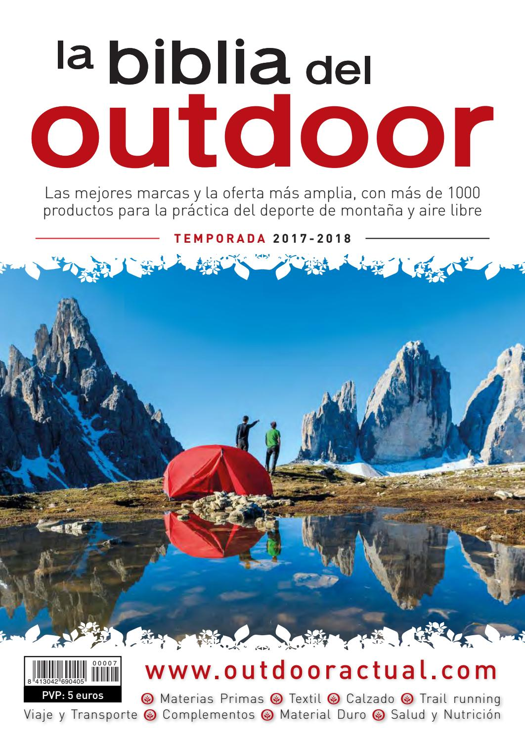 premium selection d0b45 57552 La Biblia del Outdoor 2017-18 by Outdoor Actual - issuu