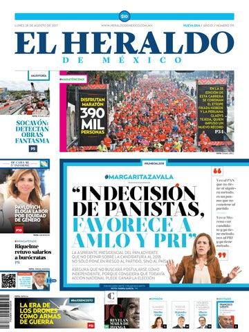 El Heraldo de México 28 de Agosto de 2017 by El Heraldo de México ... 39db5e62bc7