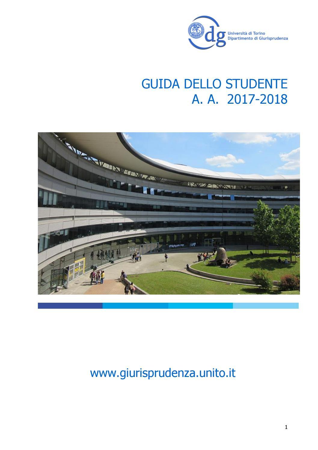 Calendario Discussione Tesi Unito.Guida Giurisprudenza 2017 2018 By Scuola Di Scienze