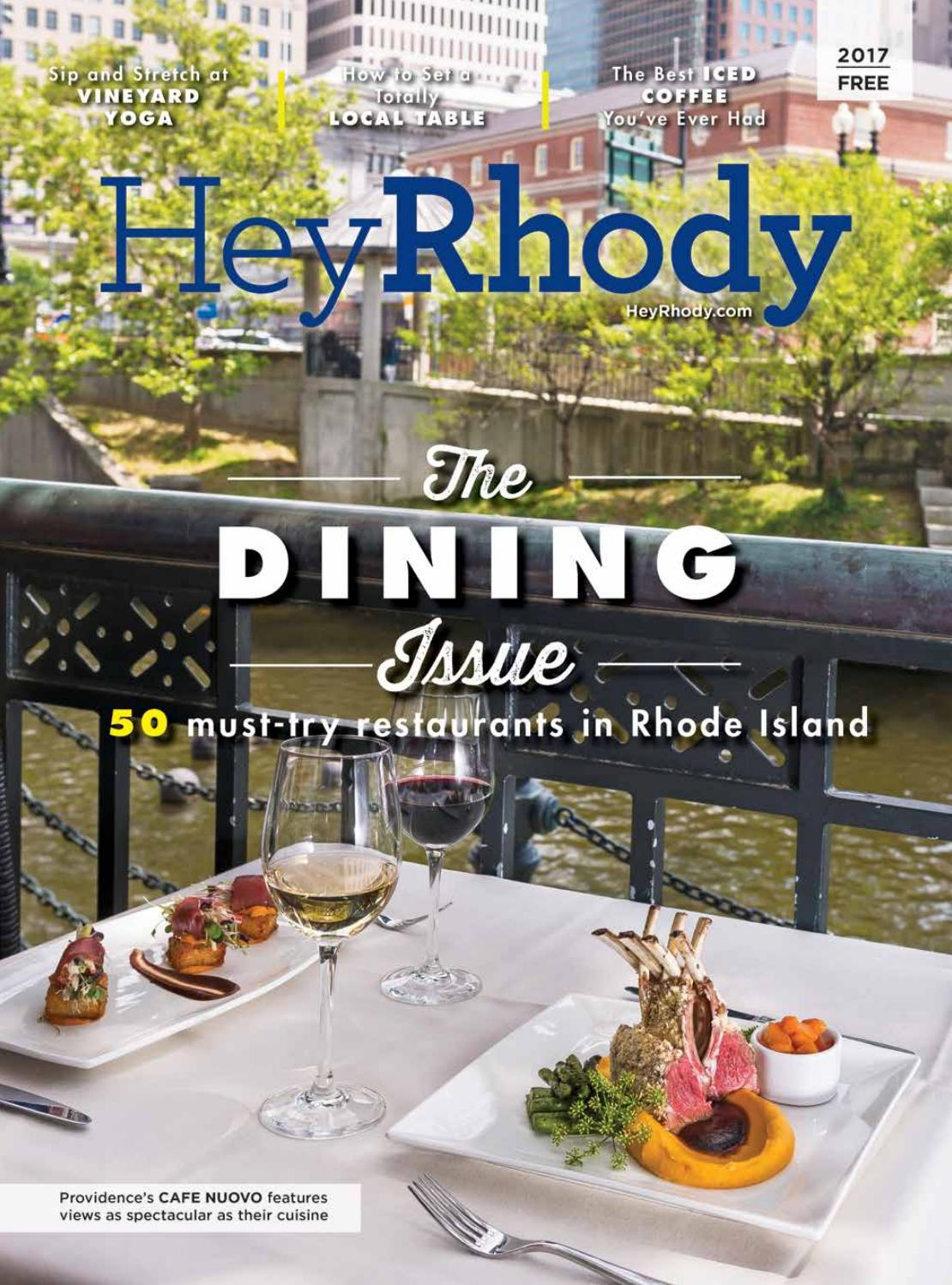 Hey Rhody Dining Guide 2017 By Providence Media Issuu