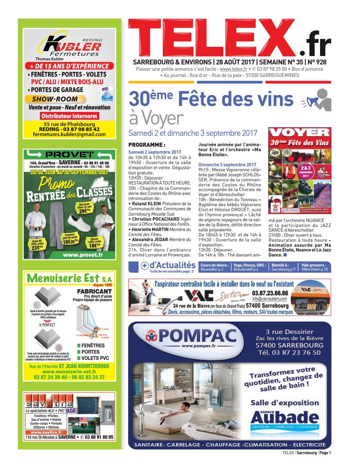 3517 Sarrebourg By Claude Vervin Issuu