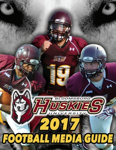 2017 Bloomsburg University Football Media Guide By Bloomsburg