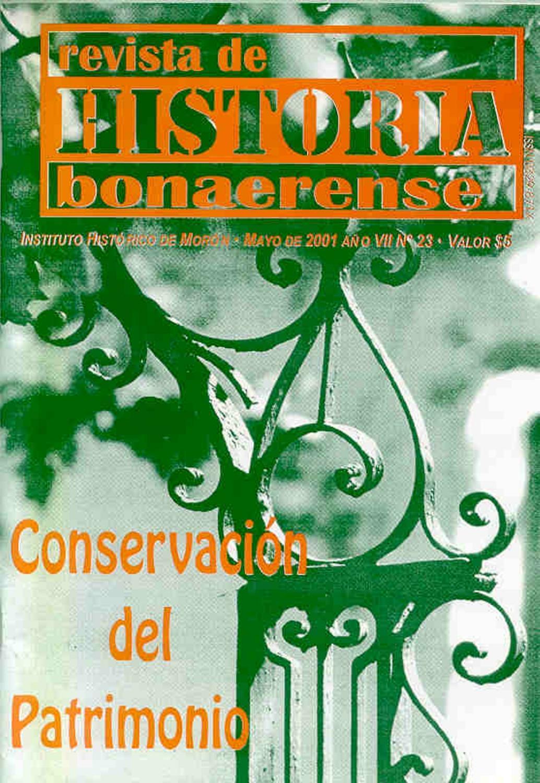Rhb N 23 Preservaci N Del Patrimonio By Revista De Historia  # Muebles Rex Hurlingham