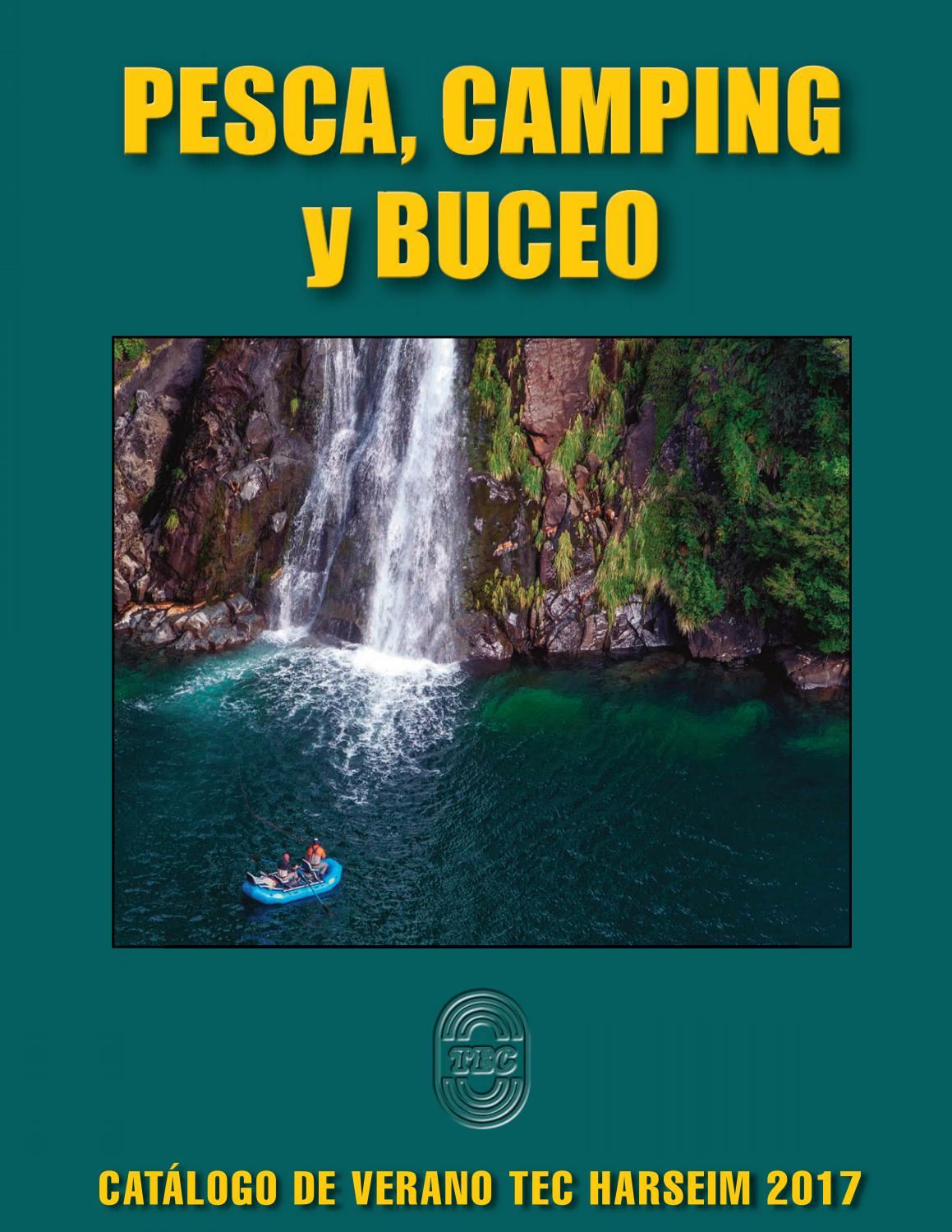 Catálogo PESCA, CAMPING y BUCEO 2017 by TEC Harseim Ltda. - - issuu