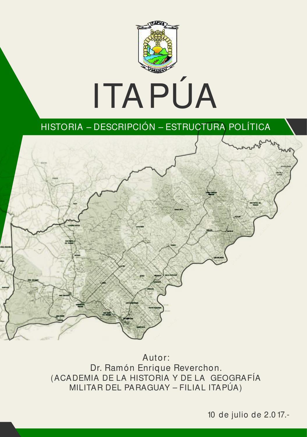 Itapúa Historia Descripción Estructura Política By