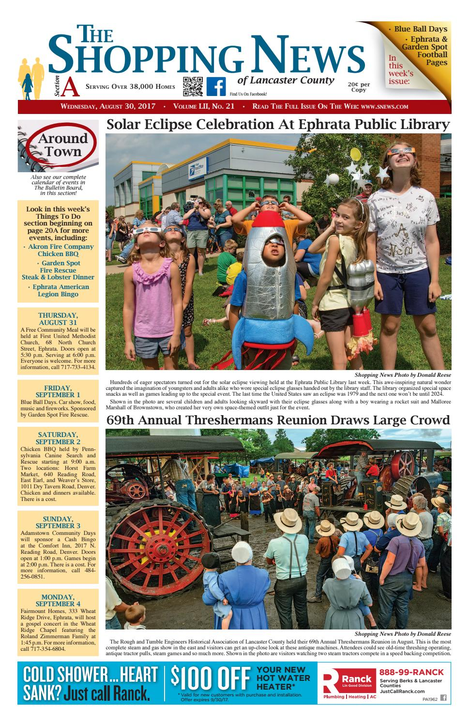 Read this week's issue online now! Jump to. Sections of this page. Accessibility Help. Press alt + / to open this menu. Facebook. Email or Phone: Password: Forgot account? Sign Up. Related Pages. Eicher Arts Center. Nonprofit Organization. Weaverland Mennonite Church. Mennonite Church. Ephrata Agway. Garden Center. Westmont Hilltop School District. Public School. Nibbles McGibbles.