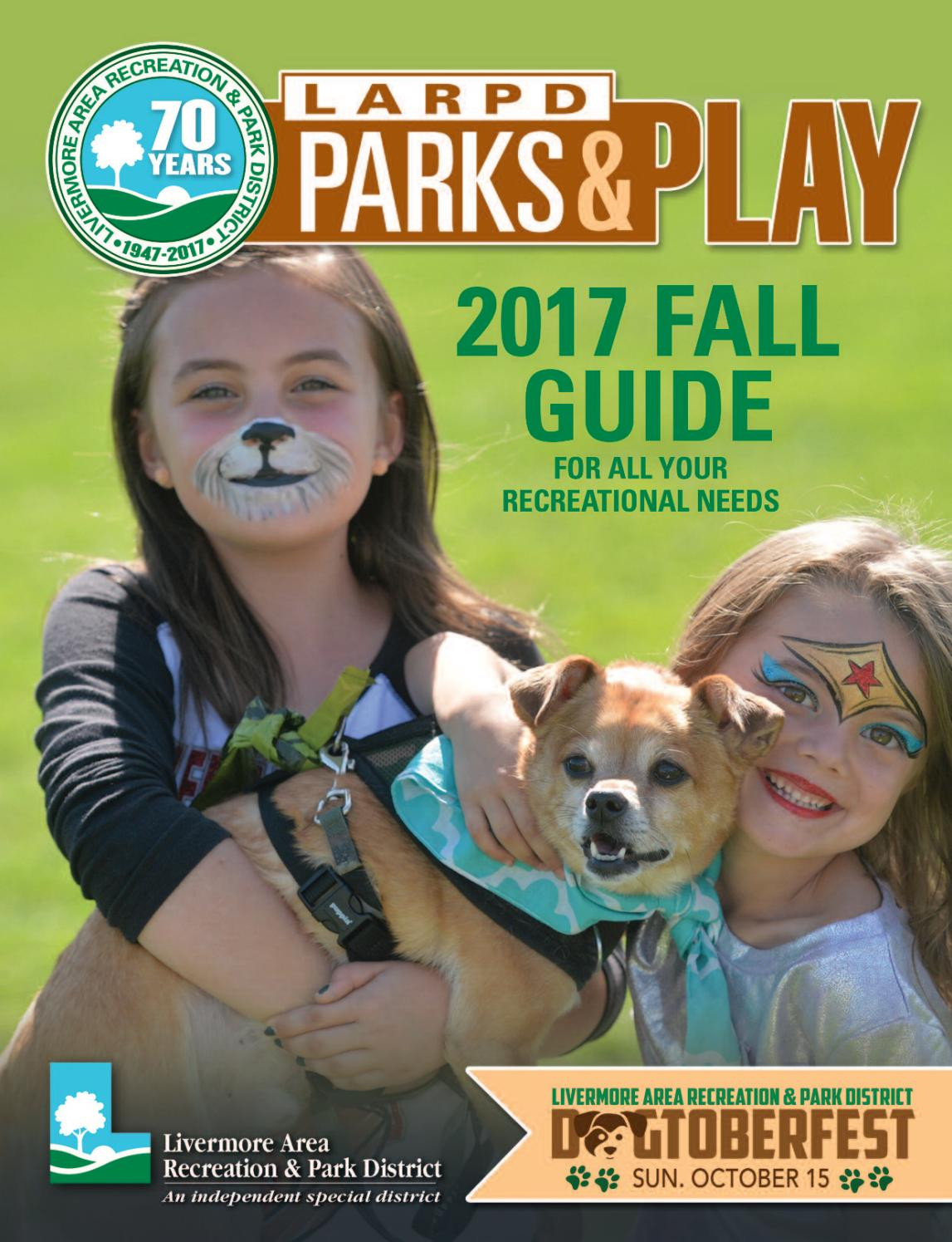 Livermore Area Recreation & Park District Fall 2017 Park & Play