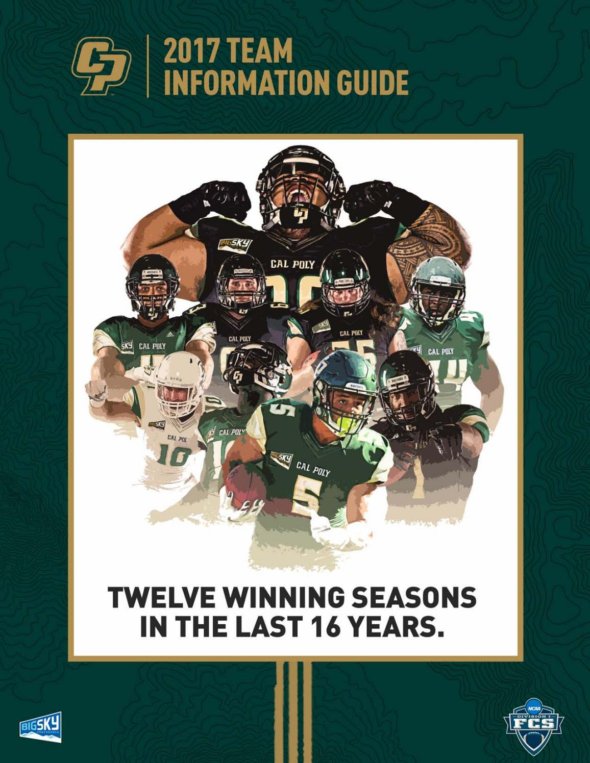 2017 Cal Poly Football Team Information Guide By Cal Poly Athletics Issuu