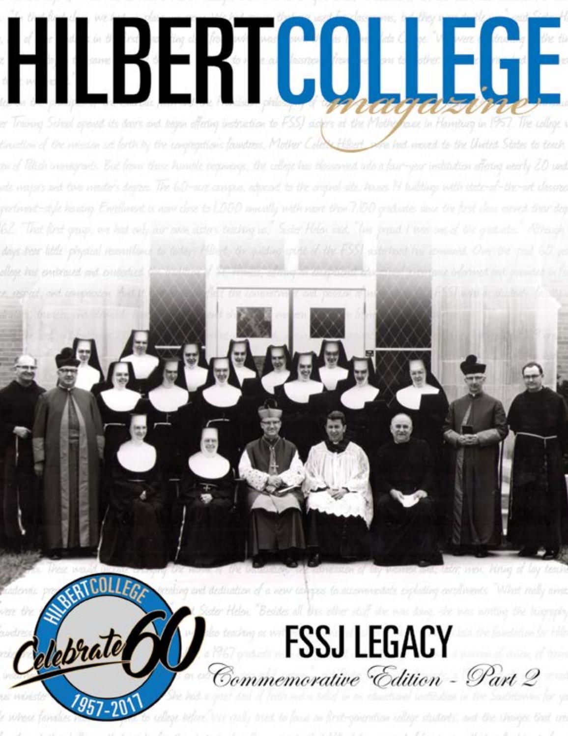 Hilbert College Magazine