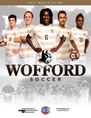 2017 Wofford Men s Soccer Media Guide by Wofford Athletics - issuu 0ddcb594e6de3