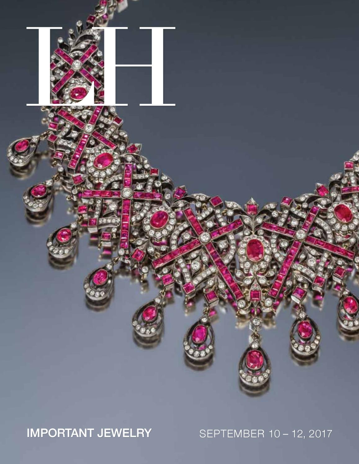 dac3e5093 Sale 523 | Important Jewelry by Hindman - issuu