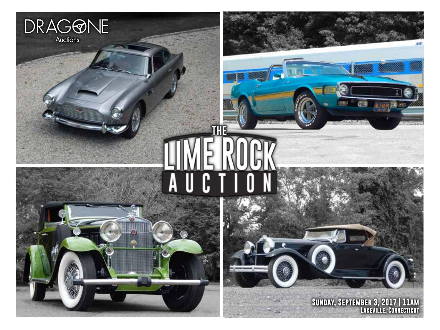 dragone u0027s lime rock auction catalog by dragone auctions issuu