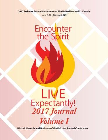 2017 Journal Volume I by Dakotas Conference UMC - issuu