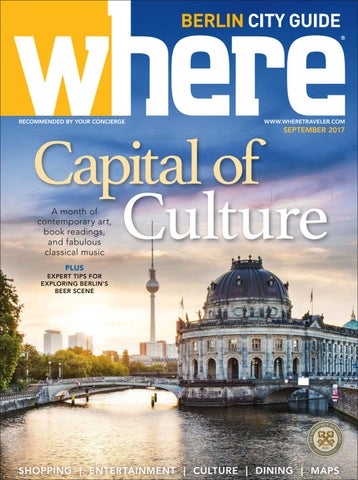 Where Berlin September 2017 By Morris Media Network   Issuu