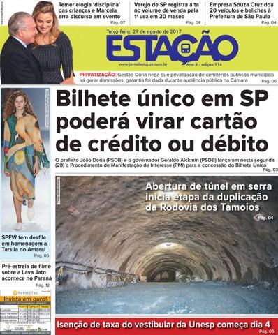 4edbfe7ea43ad Jornal Estação de 29 08 2017 - Ed. 914 by Jornal Estação - issuu