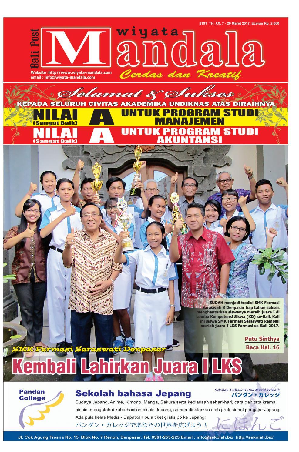 Edisi 07 Maret 2017 Wiyata Mandala By E Paper KMB Issuu
