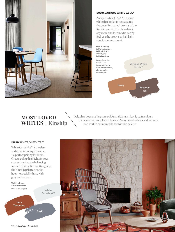 Dulux Colour Trends 2018 Home Edition Au By Dulux