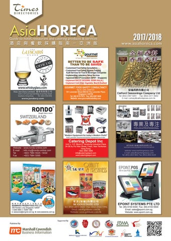 AsiaHORECA 2017/2018 by Green World Publication Company Limited - issuu