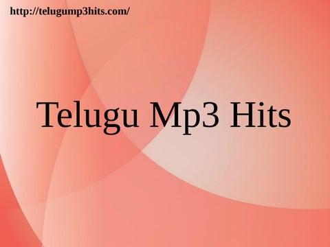 the best songs telugu download