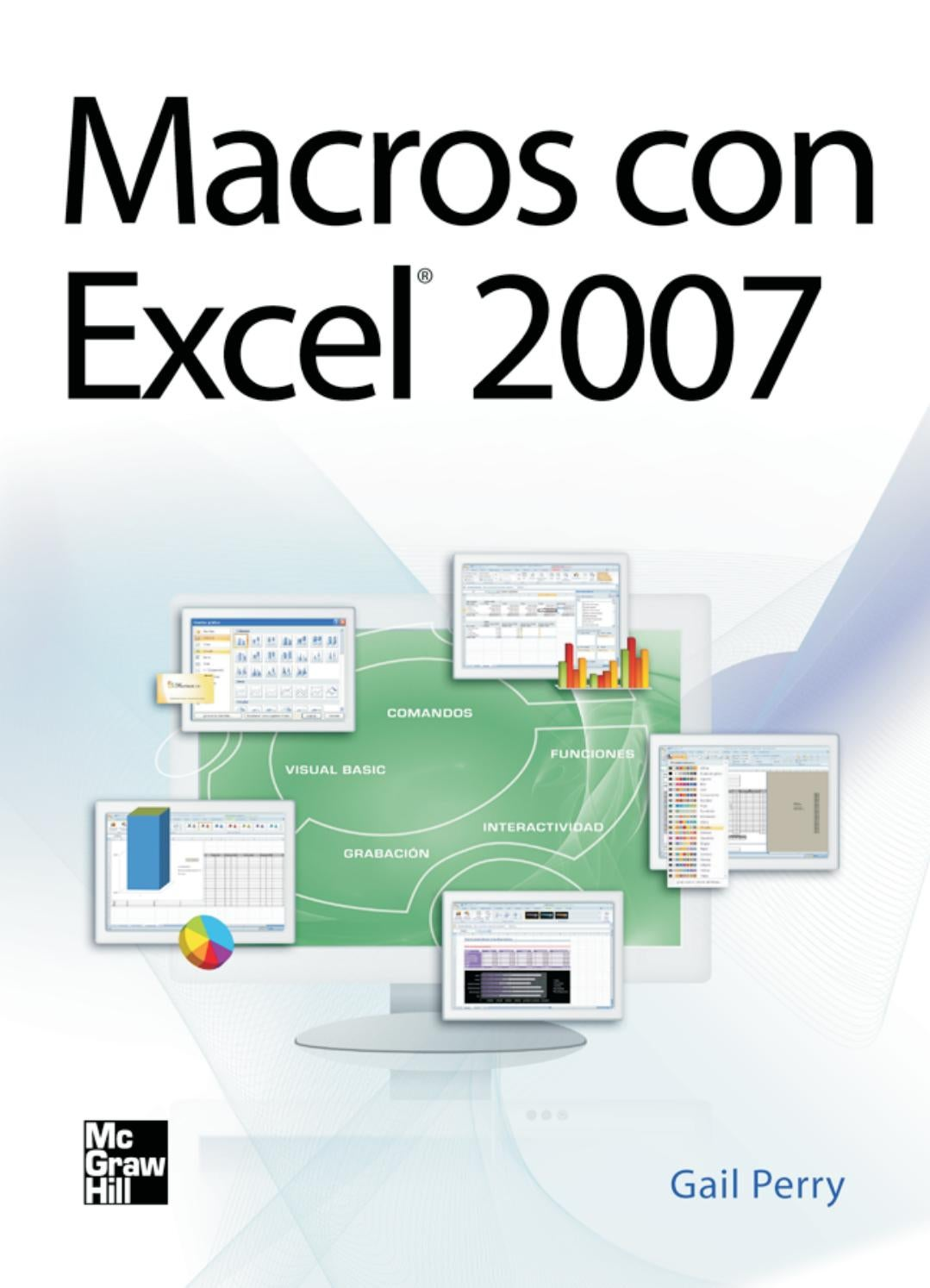 Macros con Excel 2007 - Gail Perry by Jorge - issuu