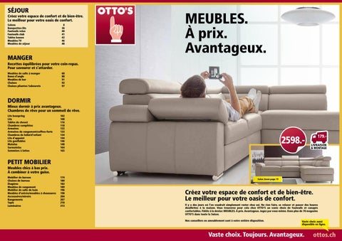 Otto 39 s catalogue de meubles by otto 39 s ag issuu for Otto s meuble yverdon