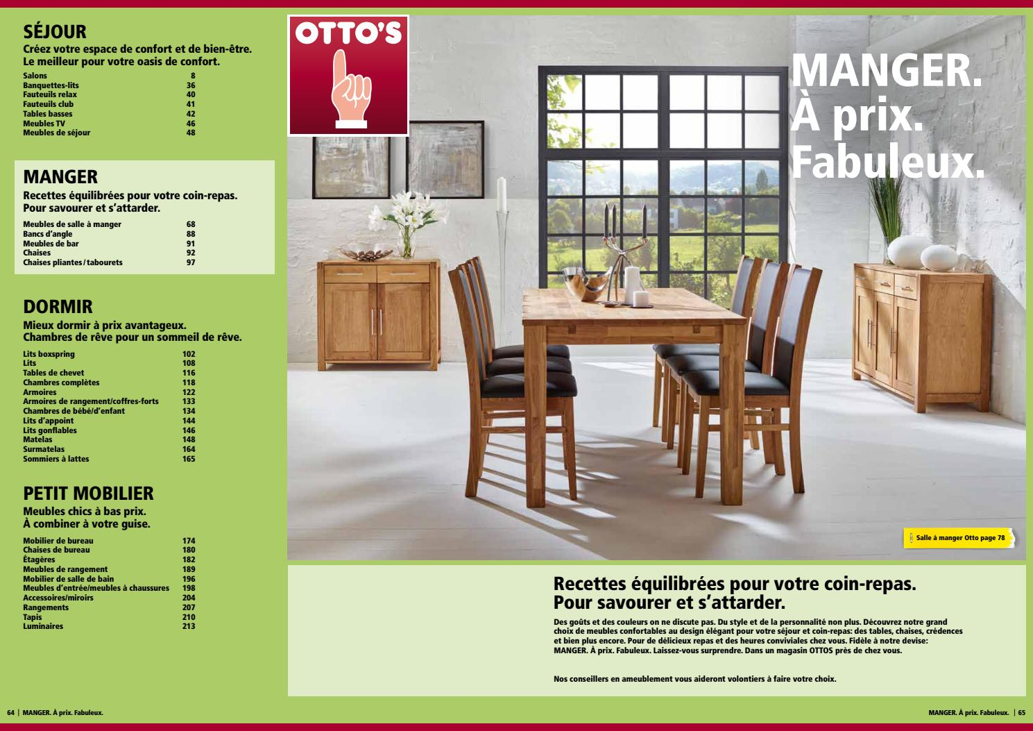 Otto 39 s catalogue de meubles manger by otto 39 s ag issuu for Otto s meuble