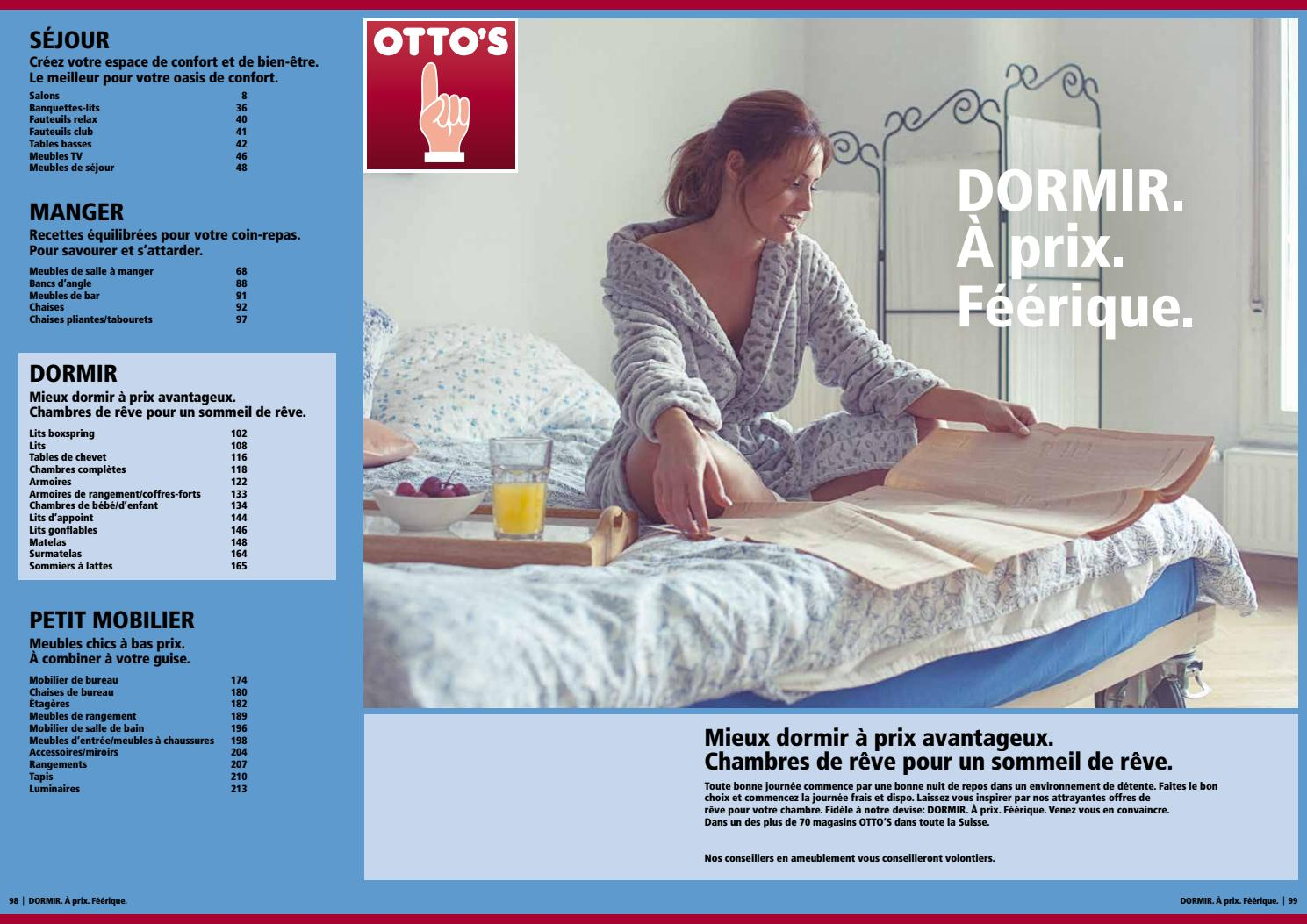 Otto 39 s catalogue de meubles dormir by otto 39 s ag issuu for Otto s meuble