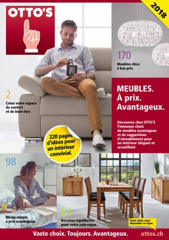 otto 39 s catalogue de meubles g n ral by otto 39 s ag issuu. Black Bedroom Furniture Sets. Home Design Ideas