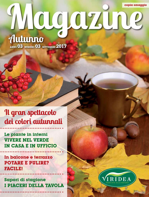 Composizioni Facili Di Frutta magazine autunno | 03 | settembre 2017 by viridea società