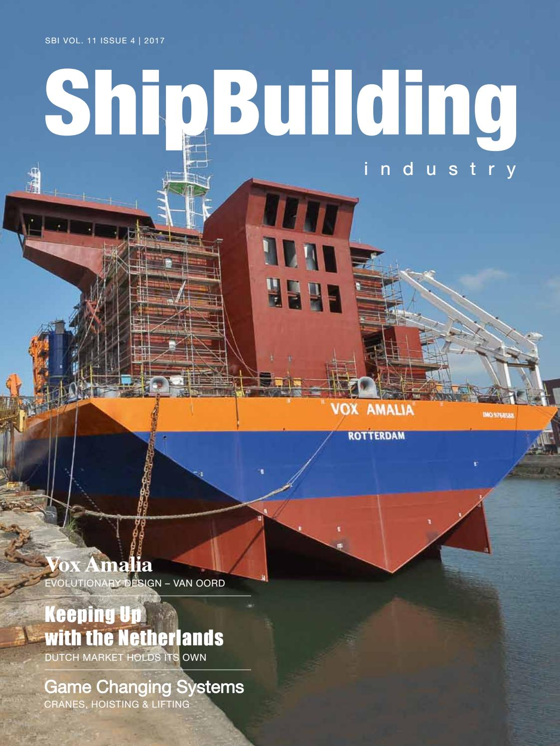 Shipbuilding Industry 2017 Issue 4 By Yellow Amp Finch