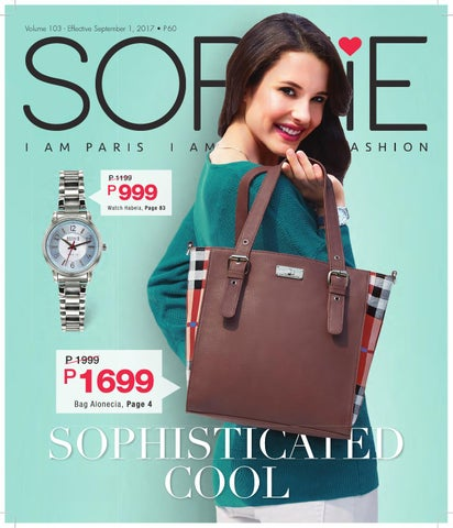 c1db12752120 Sophie Paris Philippines September Edition Catalog 103 by Sophie ...