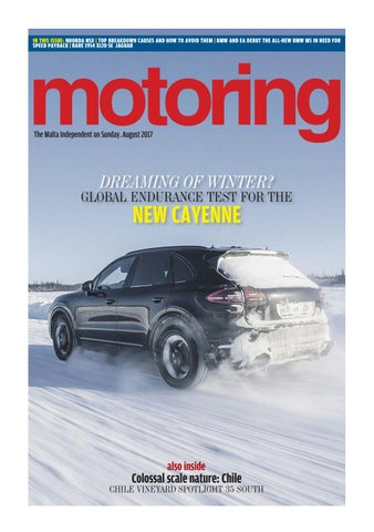 Motoring August 2017 by The Malta Independent - issuu