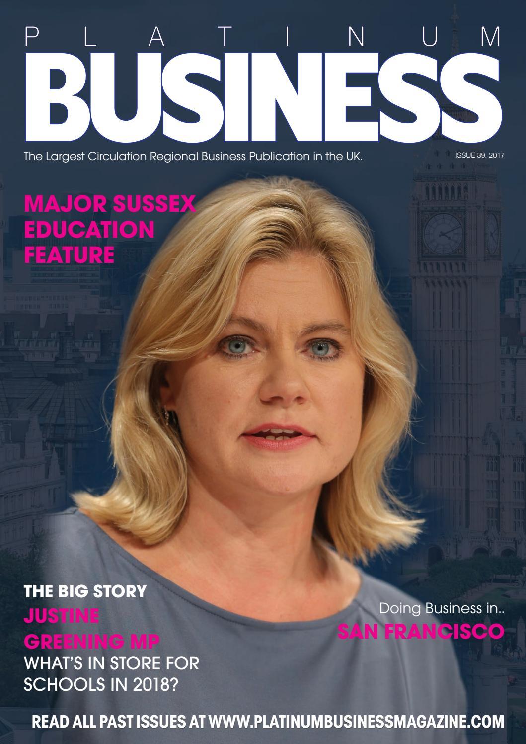 Platinum Business Magazine - issue 39