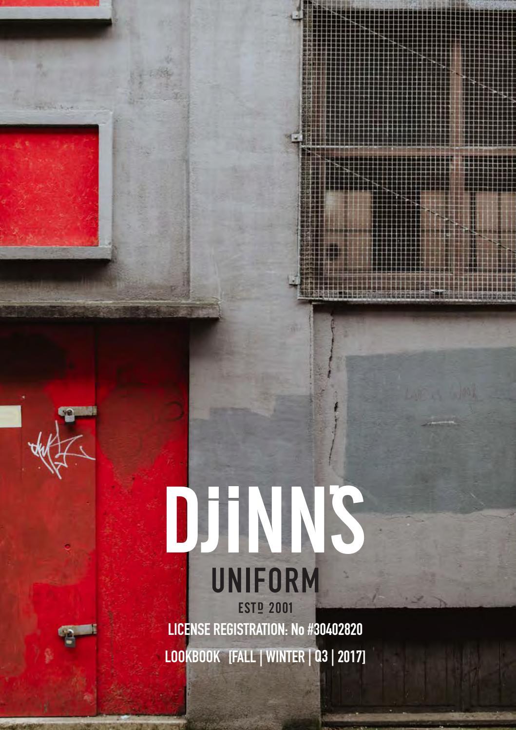 DJINN'S Lookbook FallWinter Q3 2017 by DJINNS issuu