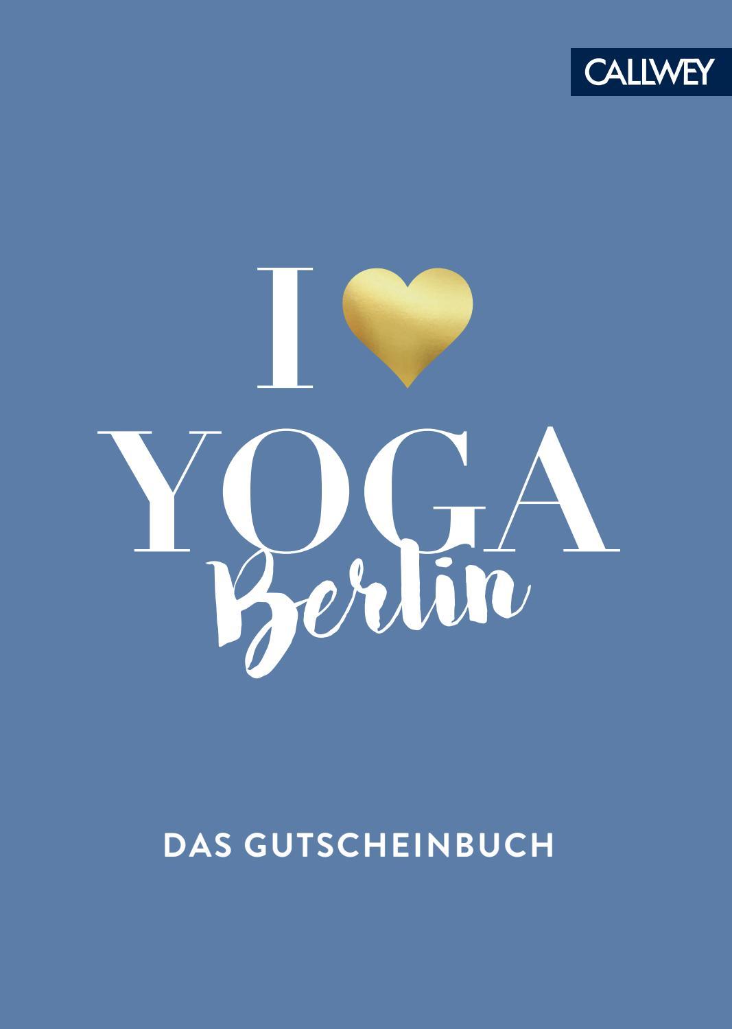 I Love Yoga Berlin By Callwey Gmbh Issuu
