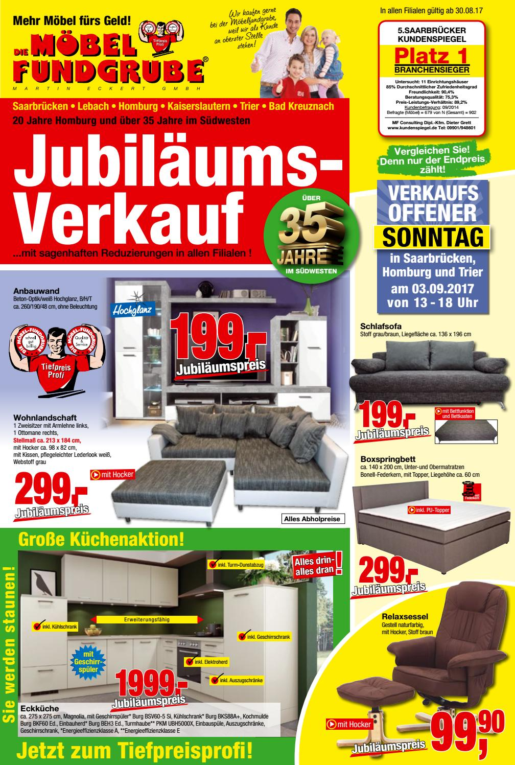 m bel fundgrube prospekt kw 35 by die m belfundgrube martin eckert gmbh issuu. Black Bedroom Furniture Sets. Home Design Ideas